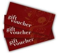 Buy gift vouchers online now!